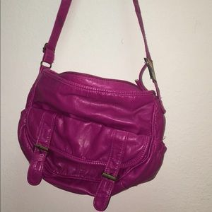 Handbags - Pink Over the Shoulder Bag